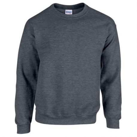 Heavy Blend Adult Crewneck Sweatshirt DARKHEATHER