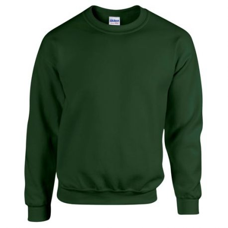 Heavy Blend Adult Crewneck Sweatshirt FORESTGREEN