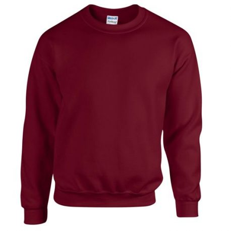 Heavy Blend Adult Crewneck Sweatshirt GARNET