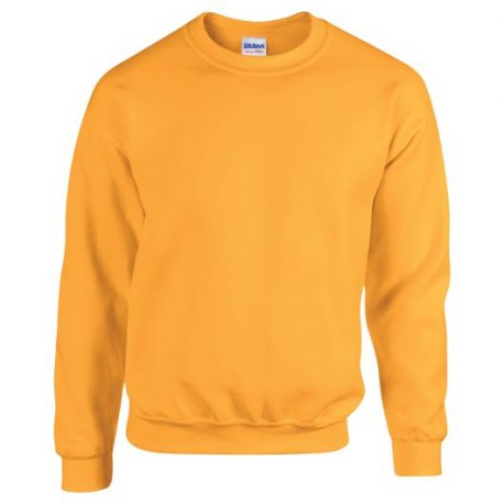 Heavy Blend Adult Crewneck Sweatshirt GOLD
