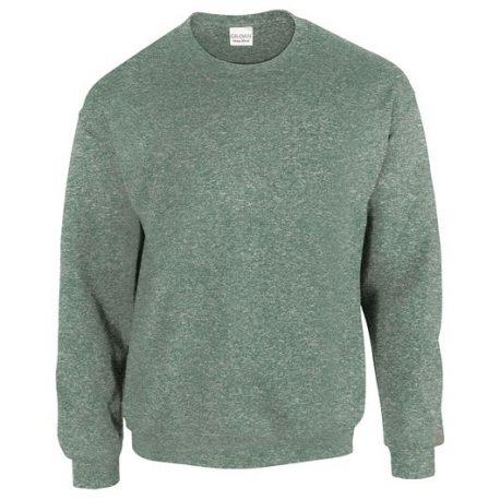 Heavy Blend Adult Crewneck Sweatshirt HEATHERSPORTDARKGREEN