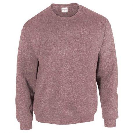 Heavy Blend Adult Crewneck Sweatshirt HEATHERSPORTDARKMAROON