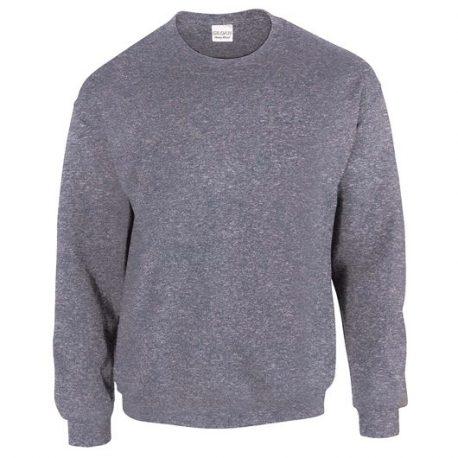 Heavy Blend Adult Crewneck Sweatshirt HEATHERSPORTDARKNAVY