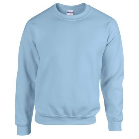 Heavy Blend Adult Crewneck Sweatshirt LIGHTBLUE