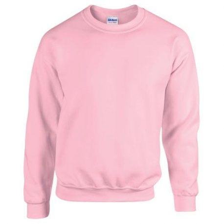 Heavy Blend Adult Crewneck Sweatshirt LIGHTPINK