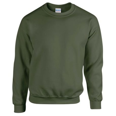 Heavy Blend Adult Crewneck Sweatshirt MILITARYGREEN