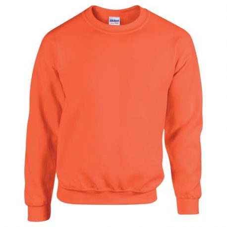 Heavy Blend Adult Crewneck Sweatshirt ORANGE