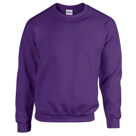 Heavy Blend Adult Crewneck Sweatshirt PURPLE