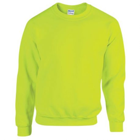 Heavy Blend Adult Crewneck Sweatshirt SAFETYYELLOW