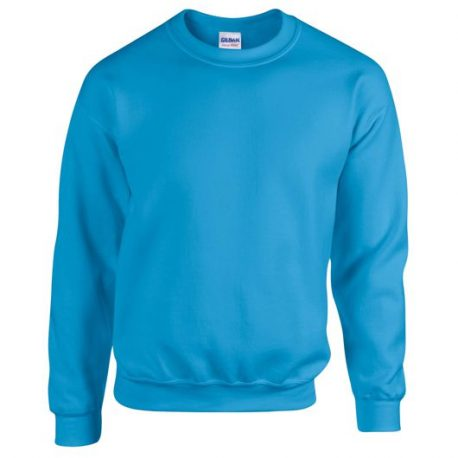 Heavy Blend Adult Crewneck Sweatshirt SAPPHIRE