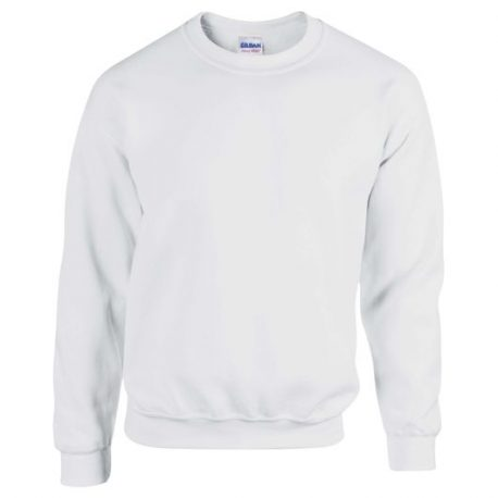 Heavy Blend Adult Crewneck Sweatshirt WHITE