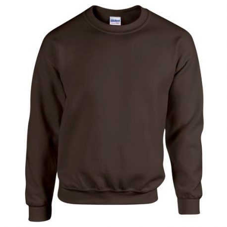 Heavy Blend Adult Crewneck SweatshirtDARKCHOCOLATE