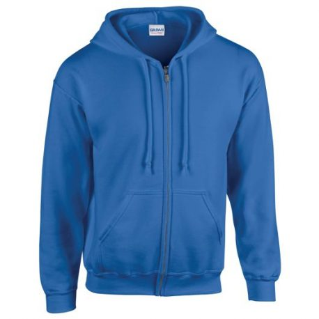 Heavy Blend Adult Full Zip Hooded Sweatshirt royale blue