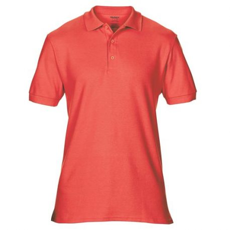 Premium Cotton Adult Double Piqué Polo BRIGHTSALMON