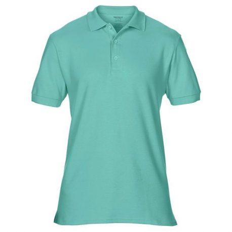 Premium Cotton Adult Double Piqué Polo CHALKYMINT