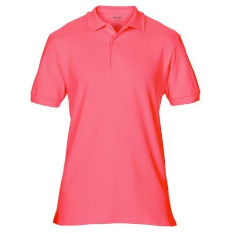 Premium Cotton Adult Double Piqué Polo CORALSILK