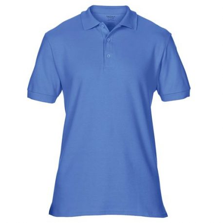 Premium Cotton Adult Double Piqué Polo FLOBLUE