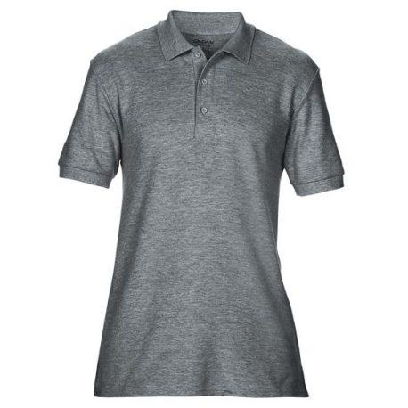 Premium Cotton Adult Double Piqué Polo GRAPHITEHEATHER