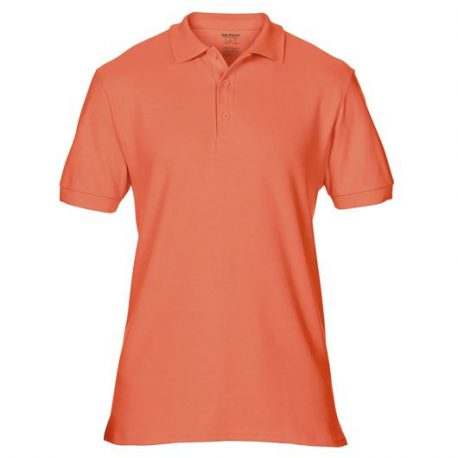 Premium Cotton Adult Double Piqué Polo TERRACOTTA