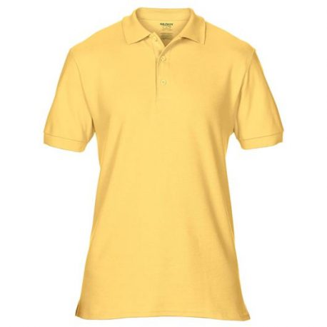 Premium Cotton Adult Double Piqué Polo daisy