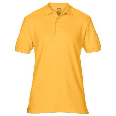 Premium Cotton Adult Double Piqué Polo gold
