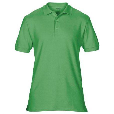 Premium Cotton Adult Double Piqué Polo irish green