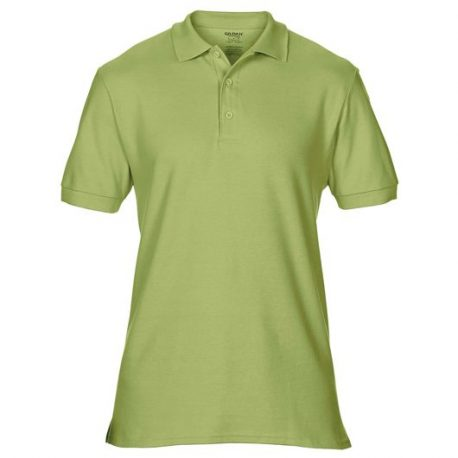 Premium Cotton Adult Double Piqué Polo kiwi