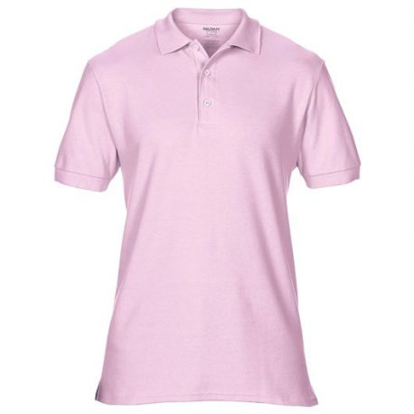 Premium Cotton Adult Double Piqué Polo light pink