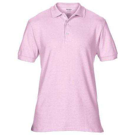 Premium Cotton Adult Double Piqué Polo light pink