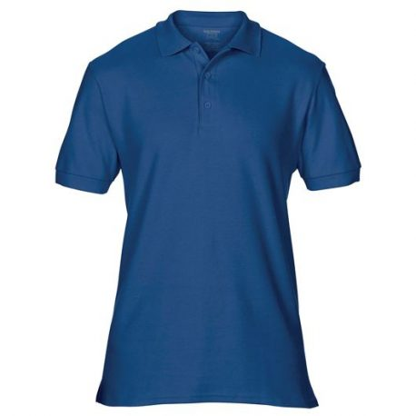 Premium Cotton Adult Double Piqué Polo navy