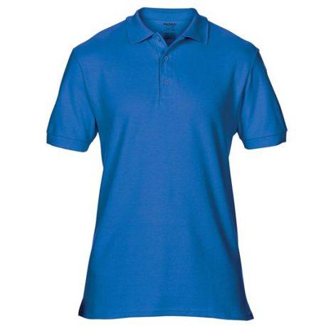 Premium Cotton Adult Double Piqué Polo royale blue