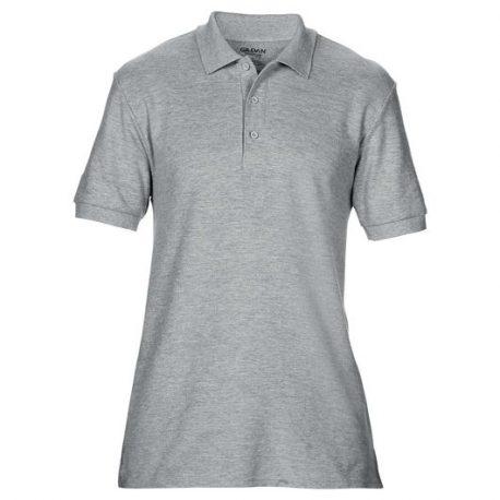 Premium Cotton Adult Double Piqué Polo sport grey