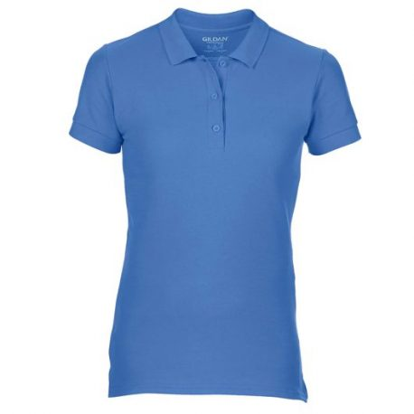 Premium Cotton Ladies' Double Piqué Polo FLOBLUE