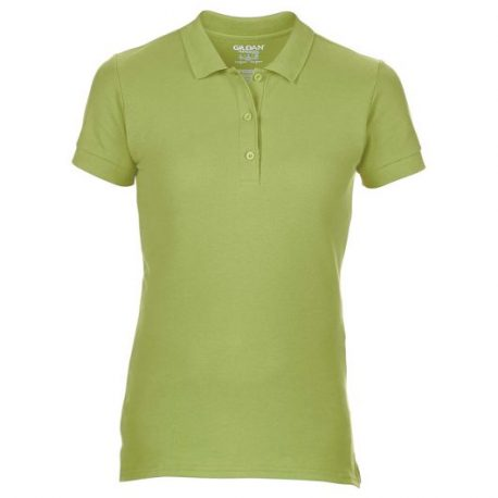 Premium Cotton Ladies' Double Piqué Polo kiwi