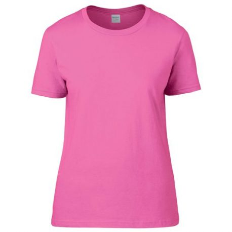 Premium Cotton Ring Spun Semi-fitted Ladies' T-shirt AZALEA