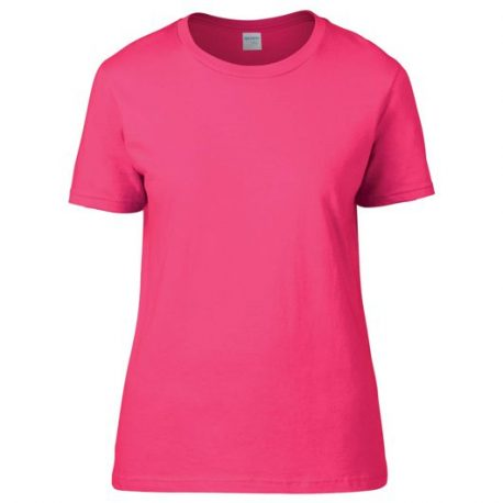 Premium Cotton Ring Spun Semi-fitted Ladies' T-shirt HELICONIA