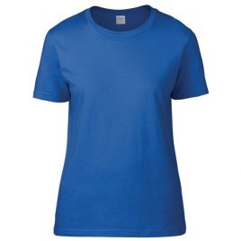 Gildan premium Cotton® Ring Spun Semi-fitted Ladies' T-shirt