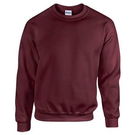 Heavy Blend Classic Fit Youth Crewneck Sweatshirt MAROON