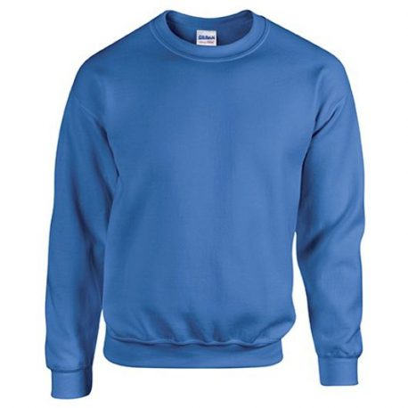 Heavy Blend Classic Fit Youth Crewneck Sweatshirt ROYALBLUE