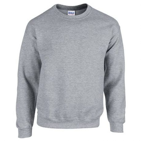 Heavy Blend Classic Fit Youth Crewneck Sweatshirt SPORTGREY