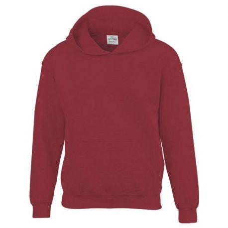 Heavy Blend Classic Fit Youth Hooded Sweatshirt GARNET