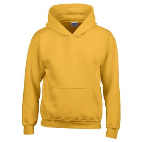 Heavy Blend Classic Fit Youth Hooded Sweatshirt GOLD