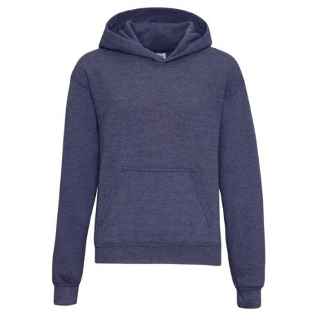 Heavy Blend Classic Fit Youth Hooded Sweatshirt HEATHERSPORTDARKNAVY
