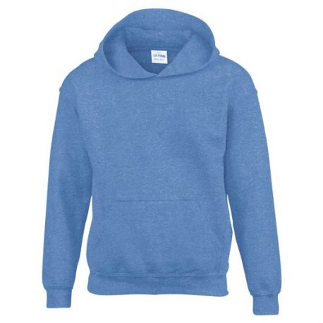 Heavy Blend Classic Fit Youth Hooded Sweatshirt HEATHERSPORTROYAL