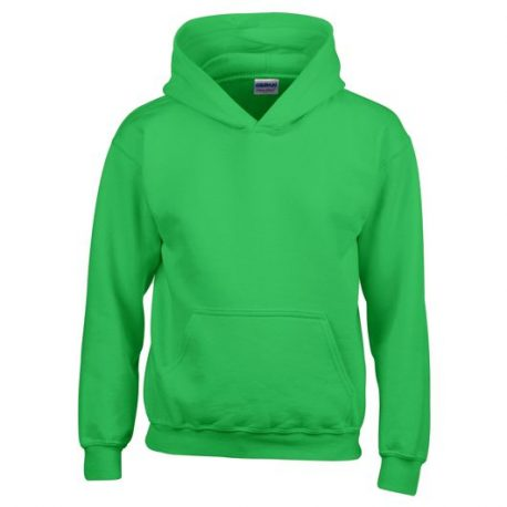 Heavy Blend Classic Fit Youth Hooded Sweatshirt IRISHGREEN