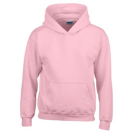 Heavy Blend Classic Fit Youth Hooded Sweatshirt LIGHTPINK