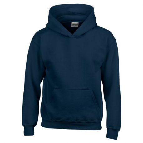 Heavy Blend Classic Fit Youth Hooded Sweatshirt NAVY
