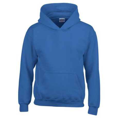 Heavy Blend Classic Fit Youth Hooded Sweatshirt ROYALBLUE