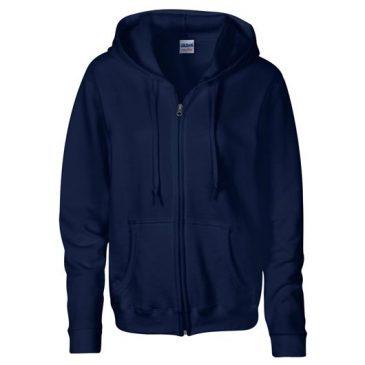 Gildan Heavy Blend®  Ladies' Full Zip Hooded Sweatshirt