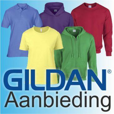 Gildan 25% korting AANBIEDING